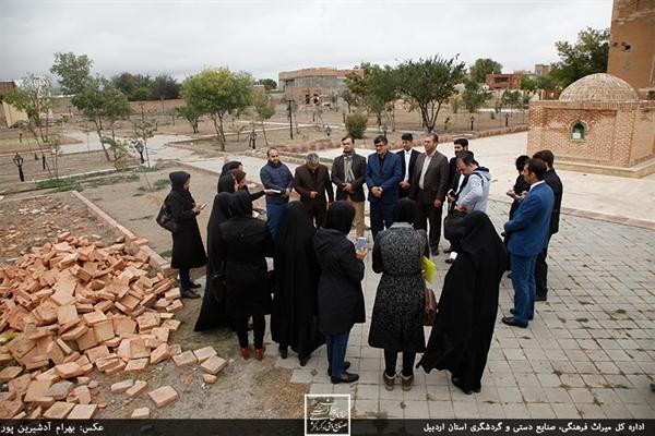 مرمت بقعه شیخ کلخوران اردبیل تا 2 سال دیگر به اتمام می رسد