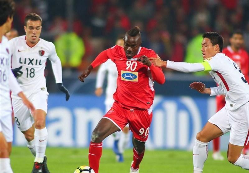 AFC: کاشیما آنتلرز سرسختانه پرسپولیس را تحت فشار قرار داد، بازی تأخیری در دستور کار نماینده ژاپن بود