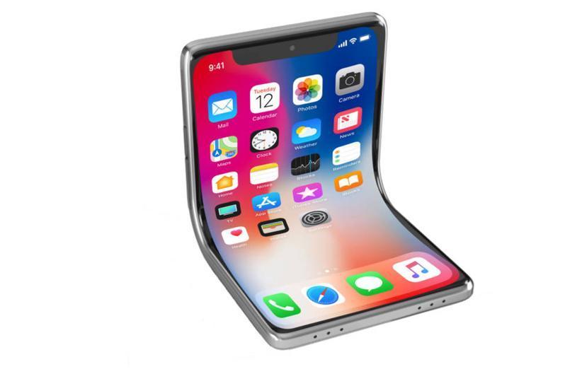 اپل برای طراحی گوشی تاشو یک پتنت ثبت نموده است