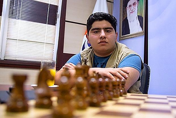 ثبت اولین برد پرهام مقصودلو در مسابقات شطرنج تاتااستیل