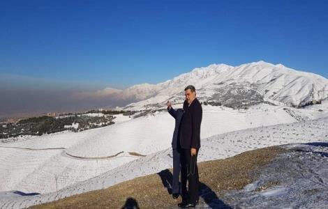 بازدید حناچی از کمربند سبز تهران