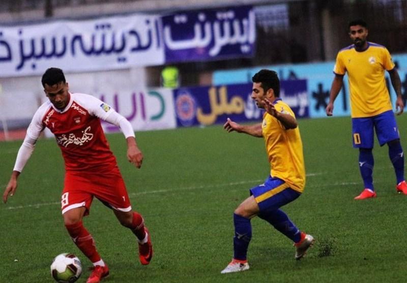 لیگ برتر فوتبال، تساوی یک نیمه ای نفت مسجدسلیمان و سپیدرود