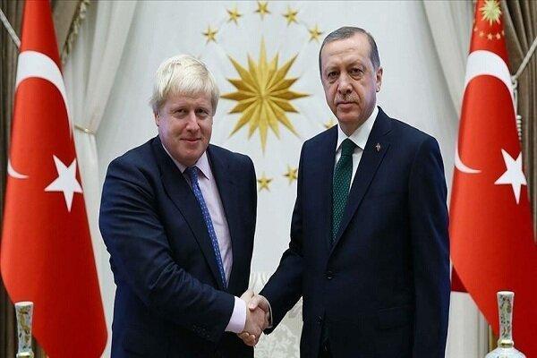 گفتگوی تلفنی اردوغان با بوریس جانسون
