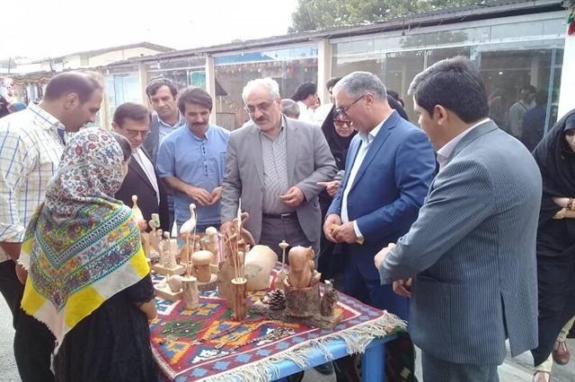 پنجشنبه بازار صنایع دستی یاسوج افتتاح شد