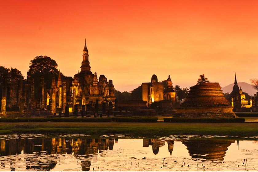 شهر قدیمی سوخوتای، شهری باستانی در تایلند