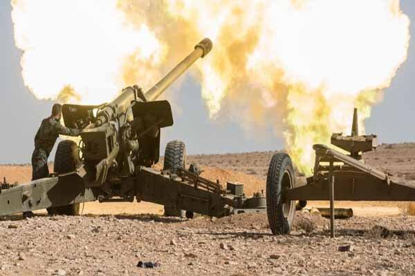 پاتک سنگین ارتش سوریه علیه تروریستهای چینی در حومه لاذقیه