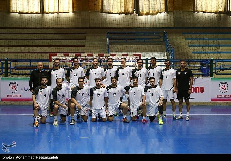 پیروزی تیم ملی هندبال ایران مقابل عمان