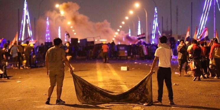 روز دهم تظاهرات عراق؛ حوزه های نفتی و پل ها هدف معترضان
