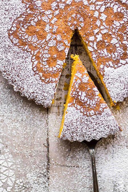 کیک نارنگی بدون گلوتن