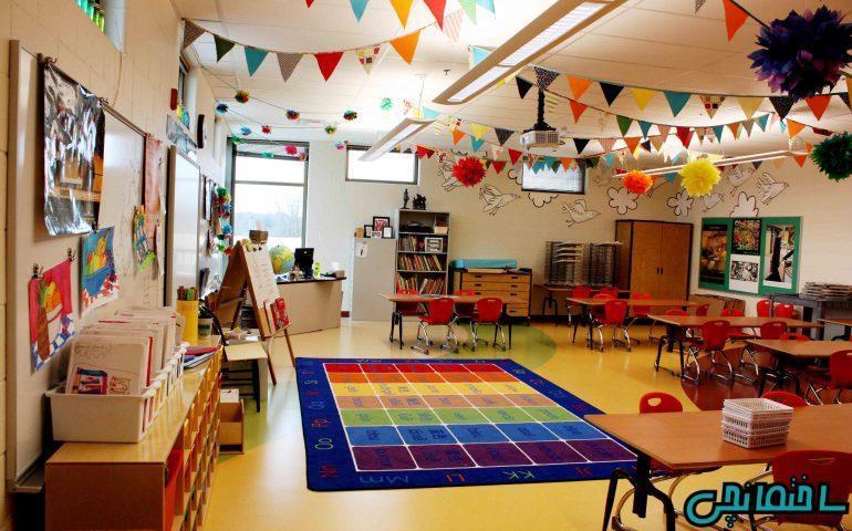 ایده های طراحی مهد کودک