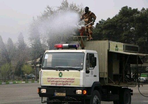 اجرای رزمایش دفاع بیولوژیک ارتش در گلستان