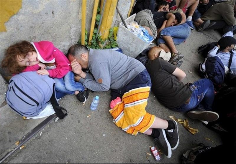 هشدار درباره شرایط وخیم پناهندگان در مرز مقدونیه-یونان