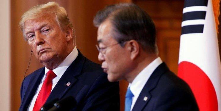 ترامپ از موافقت سئول با درخواست آمریکا خبر داد