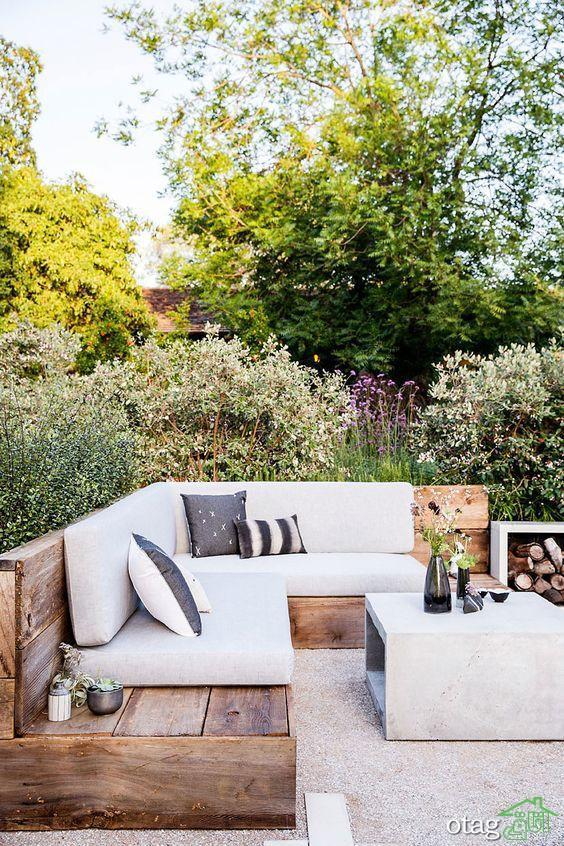 آشنایی با انواع مدل های جدید تخت و جایگاه حیاط و تراس خانه