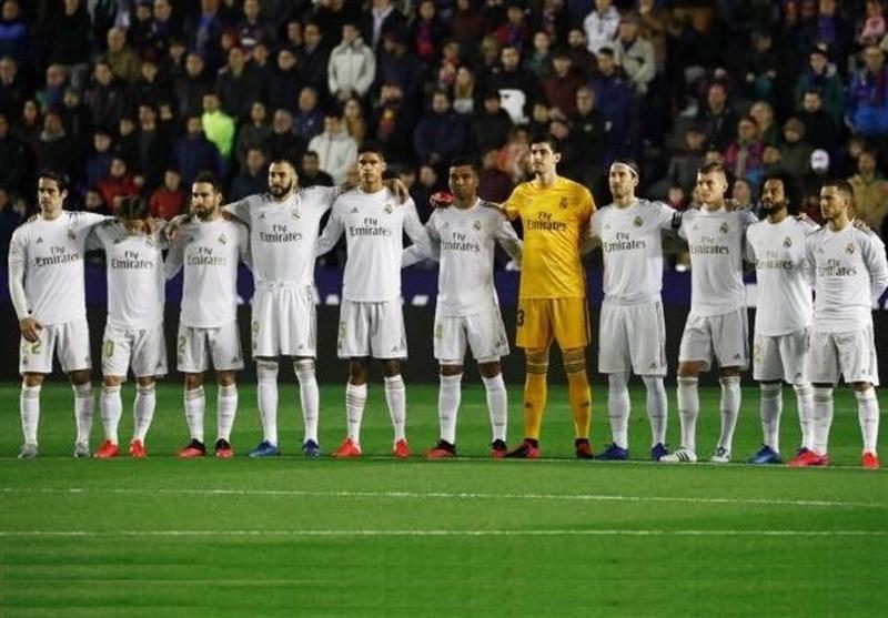 30 درصد از دستمزد بازیکنان رئال مادرید کاهش می یابد