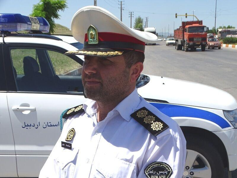 خبرنگاران واژگونی کامیون در گرمی مغان یک کشته برجای گذاشت