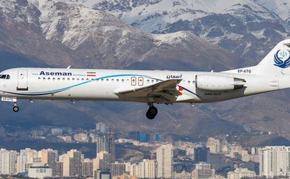 دلیل فرود اضطراری فوکر 100 آسمان در مهرآباد اعلام شد