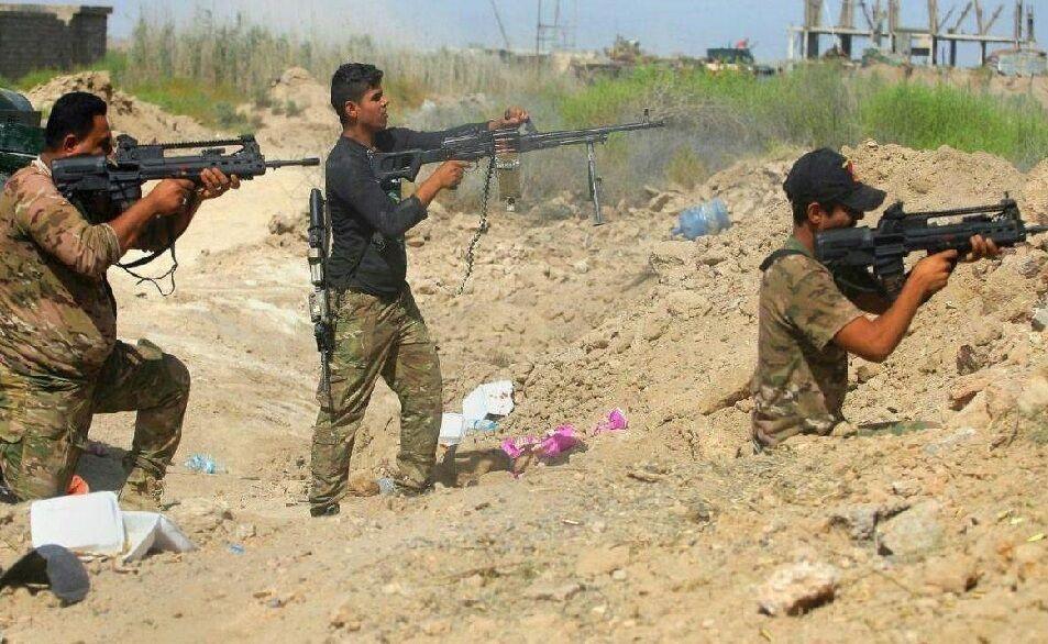 خبرنگاران چهار سرباز عراقی با اصابت خمپاره زخمی شدند