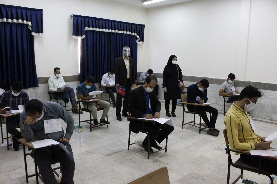 برگزاری آزمون سراسری کارشناسی ارشد 99 در دانشگاه های آزاد اسلامی گرگان و اراک