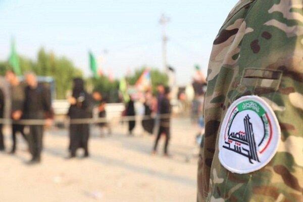 مشارکت حشد شعبی در طرح امنیتی ویژه مناسبت رحلت پیامبر در نجف