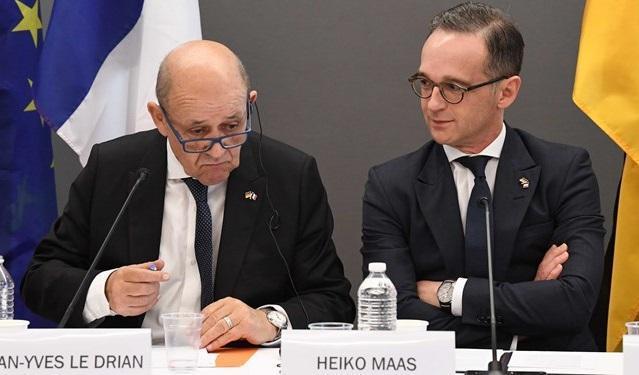 ملاقات وزرای خارجه آلمان، فرانسه و انگلیس درباره برجام