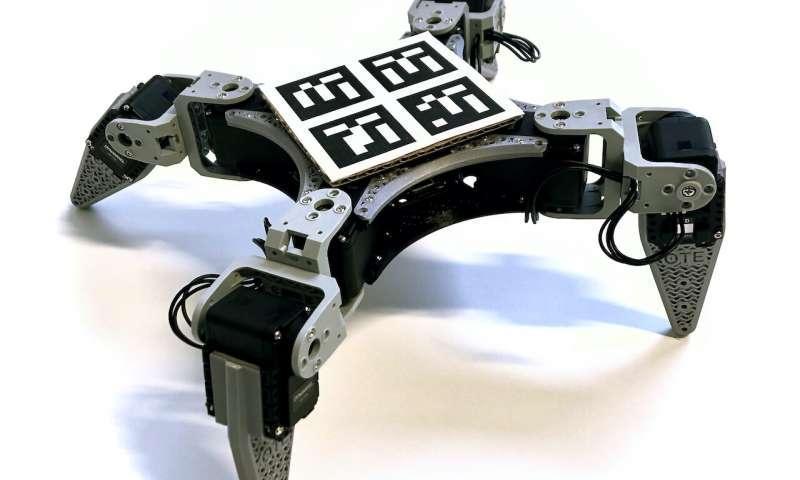 روبات چهارپایی که یاد می&zwnjگیرد ، مورچه طراحی&zwnjای همه کاره و کم هزینه