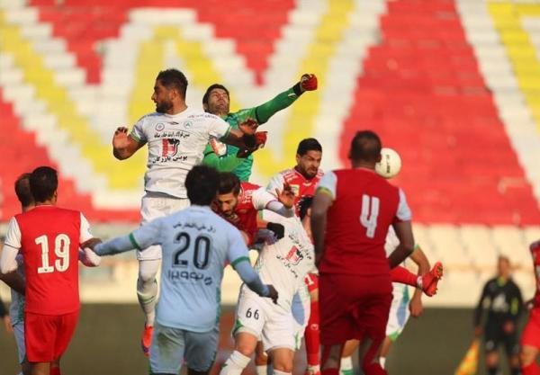 لیگ برتر فوتبال، توقف خانگی پرسپولیس مقابل ذوب آهن