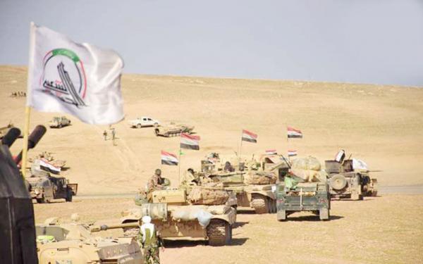 خبرنگاران نیروهای نظامی امنیتی عراق برای حمله گسترده به تروریست ها آماده شدند