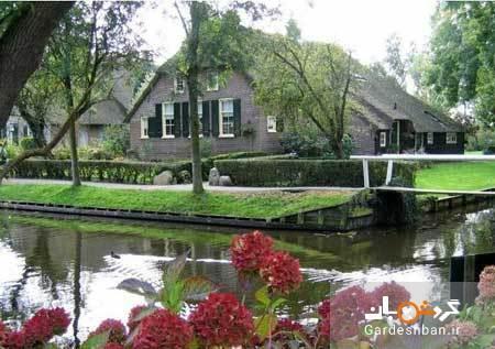 دهکده گیتورن؛ شهر زیبای هلند مخصوصِ پیاده روها
