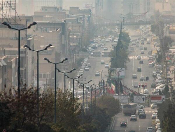 خبرنگاران هوای ناسالم برای سومین روز متوالی میهمان سه شهر استان مرکزی است