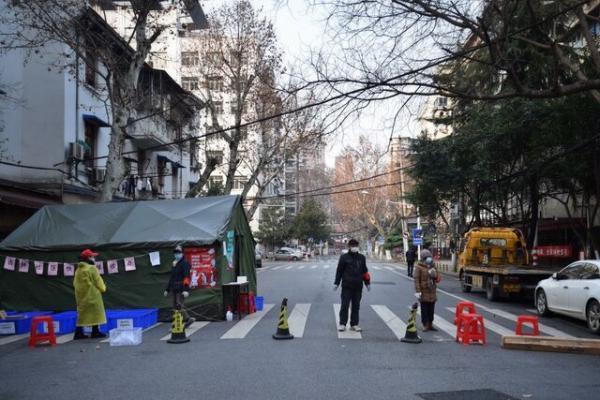 برگزاری مراسم اولین سالگرد اعمال قرنطینه در شهر ووهان چین