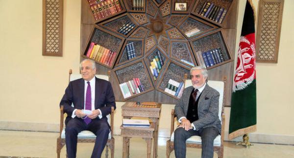 جزئیات دیدار خلیل زاد با اشرف غنی و عبدالله