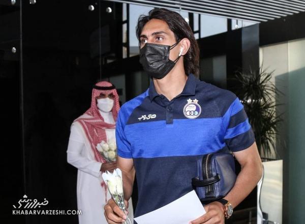 اتفاقات عجیب در عربستان، مراقبت ویژه از استقلالی ها در حیاط هتل!