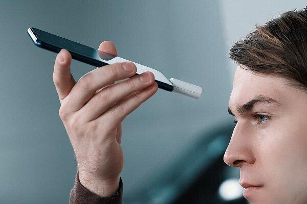 تب سنج موبایلی بدون تماس دما را اندازه می گیرد