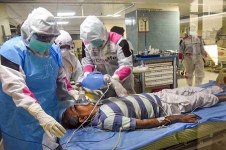 فوت بیماران کرونایی بستری در دهلی بر اثر کمبود اکسیژن