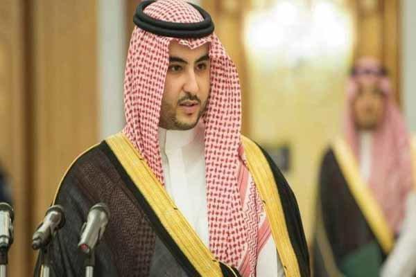 ملاقات معاون وزیر دفاع عربستان و وزیر خارجه آمریکا