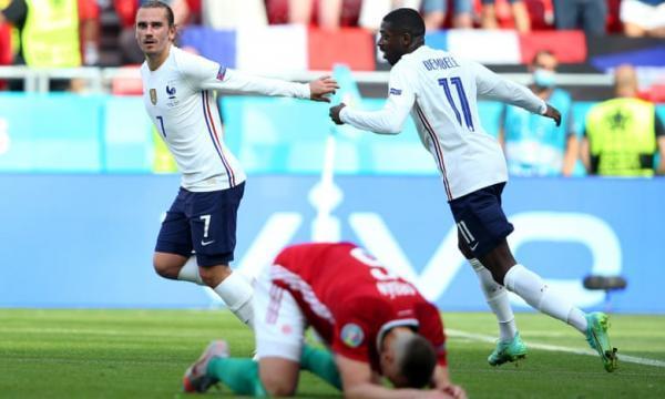 مجارستان 1 ، 1 فرانسه، بازگشت نیمه تمام تیم دشان