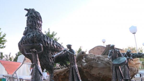 گشایش نمایشگاه هنر بازیافت در شهرکرد