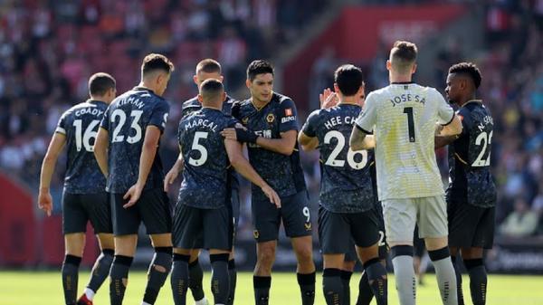 لیگ برتر انگلیس، پیروزی ولورهمپتون برابر ساوتهمپتون